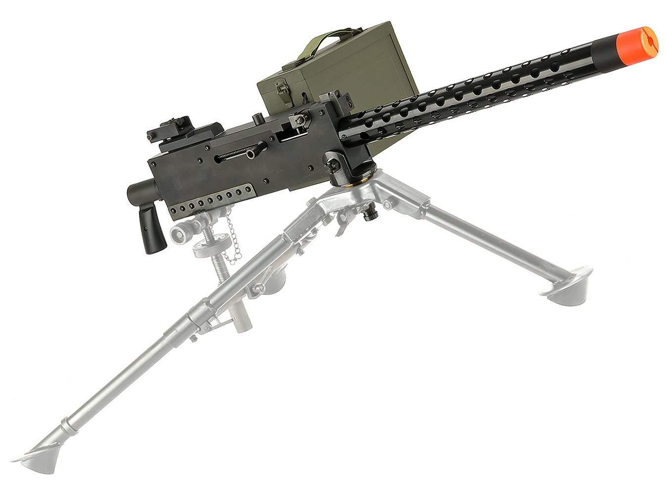 Evike EMG M1919 WWII American Automatic Squad Support Weapon Airsoft AEG - Gun Only - (32930) by Evike