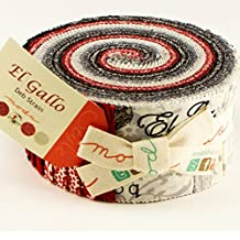 Deb Strain El Gallo Jelly Roll 40 2.5-inch Strips Moda Fabrics 19690JR by Moda Fabrics