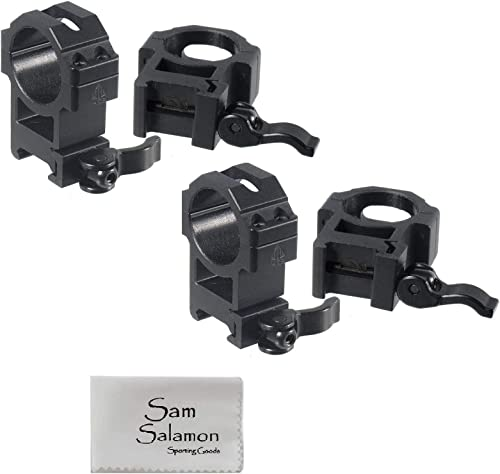 UTG 30mm/2PCs Hi Pro LE Grade Picatinny QD Rings