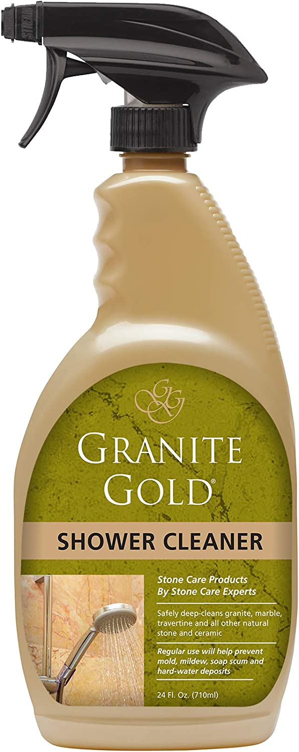 Amazon Com Granite Gold Shower Cleaner Spray Stone Shower