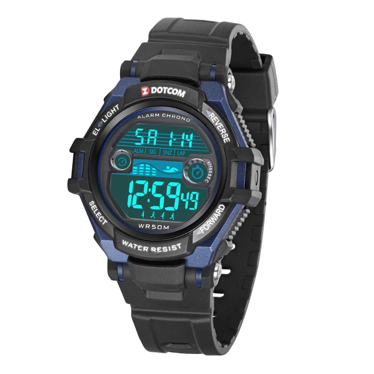 909cd5d4ea51 Relojes de Pulsera Electrónicos para Niños Niños Digital Relojes Deportes–5  ATM Reloj Deportivo Impermeable