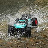 LBLA Remote Control Car, 1/12 Scale 4WD RC Car. RTR 2.4Ghz 35 MPH High Speed Off-Road RC Truck (aqua)