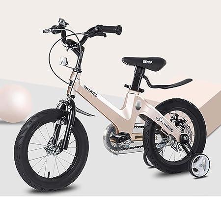 GAIQIN Durable Bicicleta para niños Bicicleta 3-5-7-10 años de ...