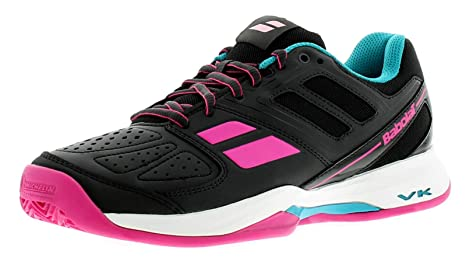 Babolat Pulsion Clay Padel Mujer Gris Rosa: Amazon.es ...