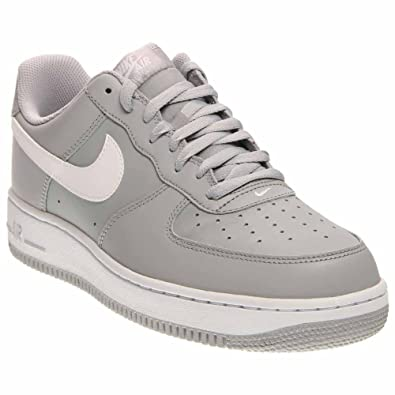 5290e88c82f Nike Mens Air Force 1 Basketball Shoes Wolf Grey White 820266-004 Size 11.5