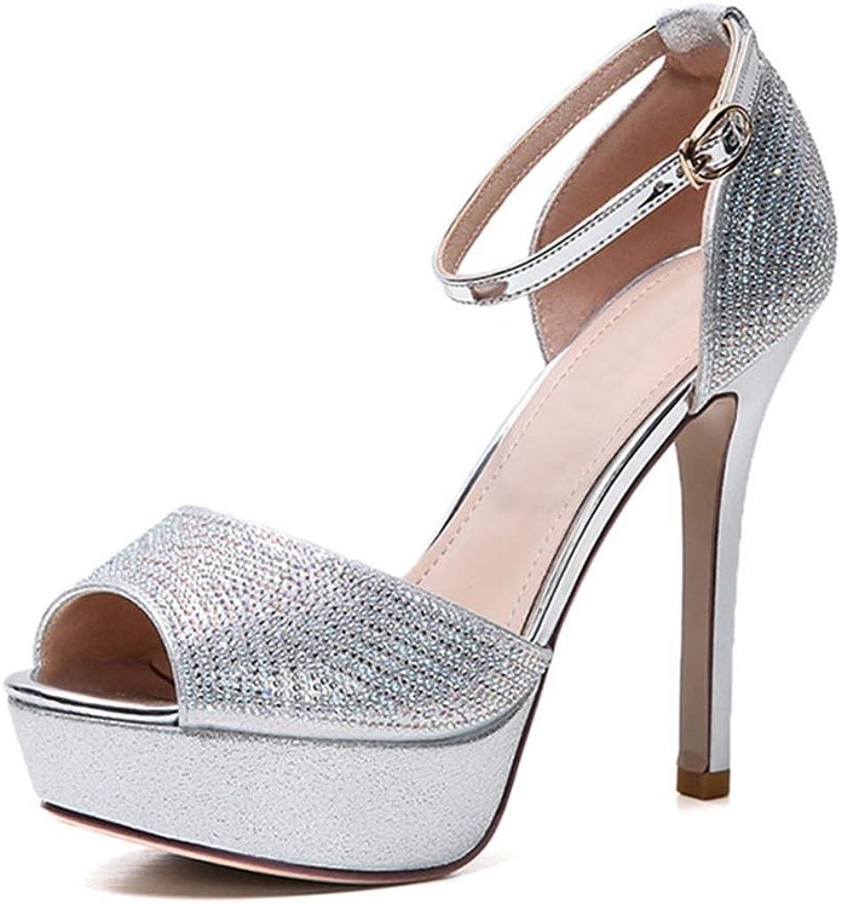 cm) Heel, Ankle Strap, High Heel