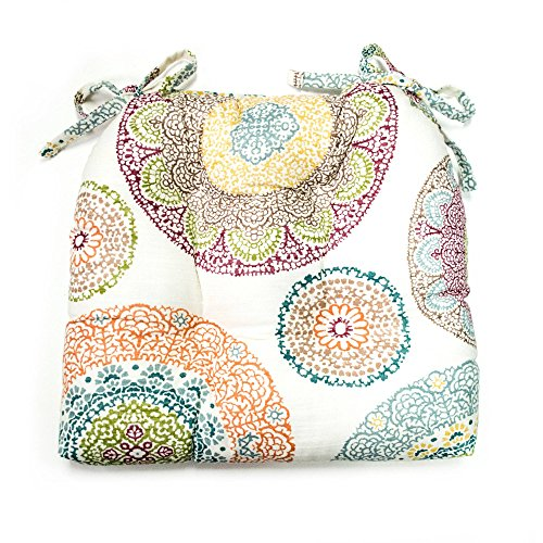 Better Homes & Gardens Lace Medallion Chair Pad,Multicolor