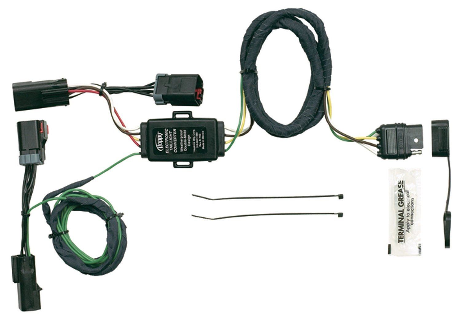 61Ia%2Btk0gAL._SL1500_ amazon com hopkins 42215 plug in simple vehicle wiring kit hopkins wire harness at cita.asia