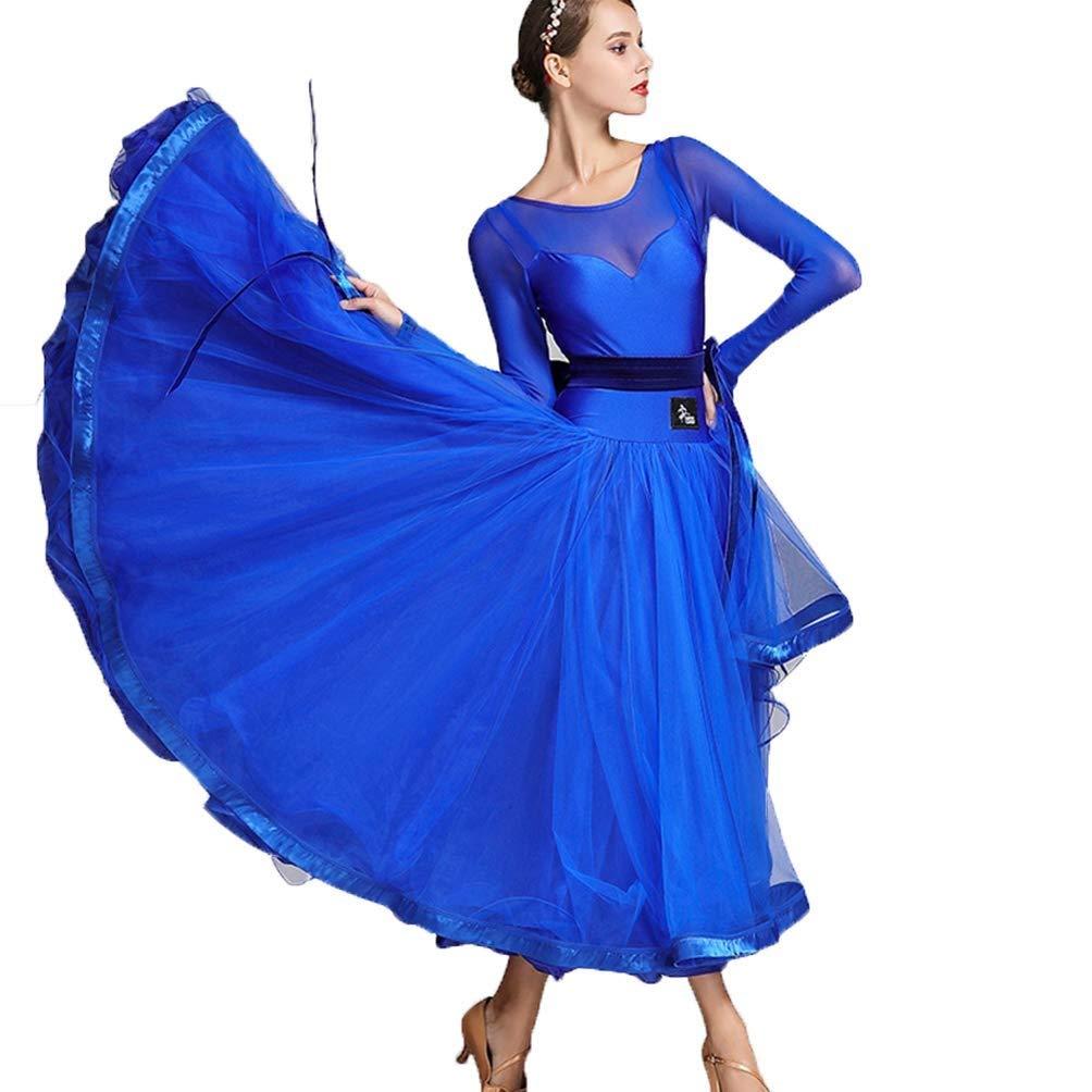 CX Maschen Nähen Frauen Standard Standard Standard Ballsaal Tanz Tüll Kleider Professioneller klassischer Walzer Foxtrot FlamencoTanzabnutzung Tango Leistungsanzug B07QKCBSCG Bekleidung Allgemeines Produkt 566420