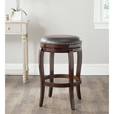 Safavieh Home Collection Nuncio Sierra Brown 29-inch Bar Stool