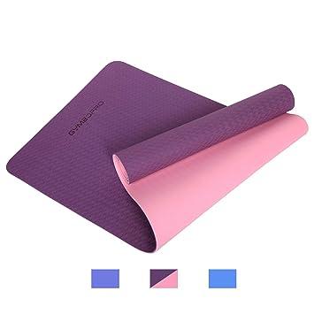 GYMBOPRO Colchoneta de Yoga, Estera de Yoga Extra ...