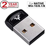 Avantree PLUG & PLAY Bluetooth 4.0 USB Dongle Adapter for NATIVE Windows 10, 8.1, 8 PC & Computer (NOT for UPGRADED System), Wireless Laptop Stick for Music, VOIP, Keyboard, Mouse - DG40SA