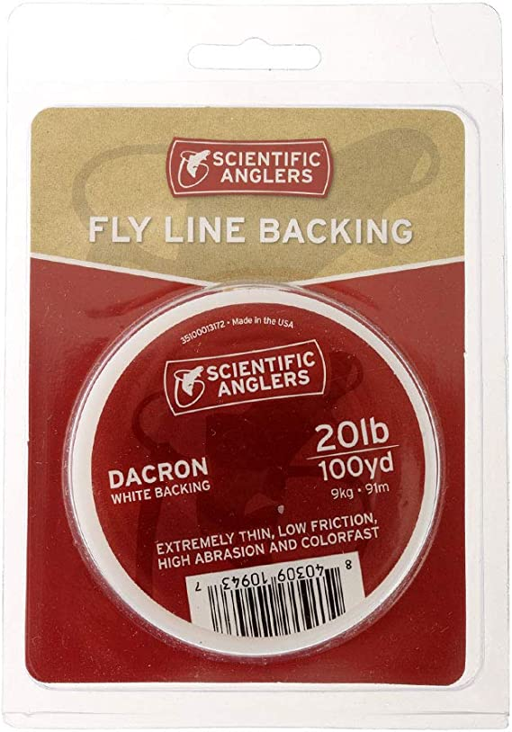 US for sale online Scientific Anglers 30 LB Red 250 Yd Dacron Backing