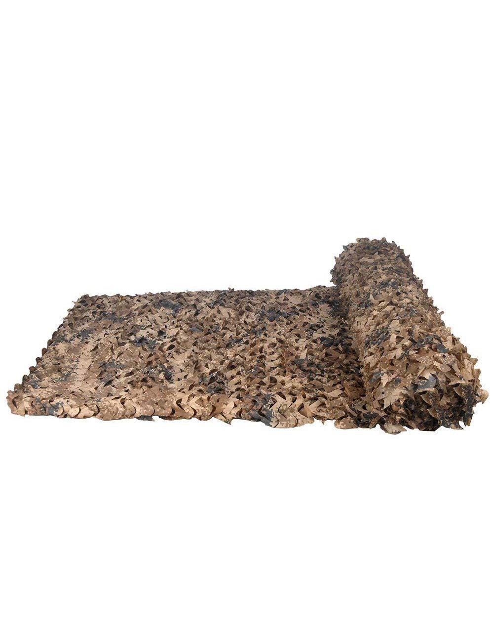 Woodland Camouflage Net Net Net Prossoezione Solare Rete da Caccia Camo Net Campeggio Nascondere Camo Militare per Bambini Tenda Auto-Covering (Coloreee   Desert Digital, Dimensioni   4m×5m) B07L7QY2H5 4m×5m Desert Digital   Moderno Ed Elegante Nella Moda  da1822