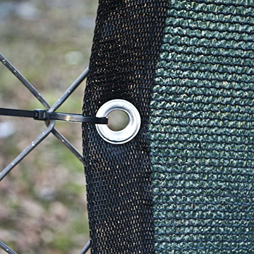 Aleko 5 X 50 Feet Dark Green Fence Privacy Screen Outdoor