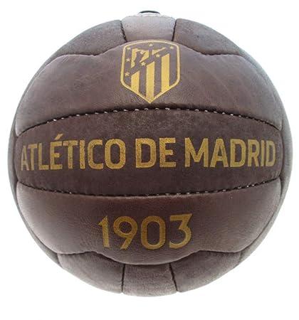 ATLETICO MADRID - Balón Oficial ATM Vintage Efecto Antiguo 1903 ...