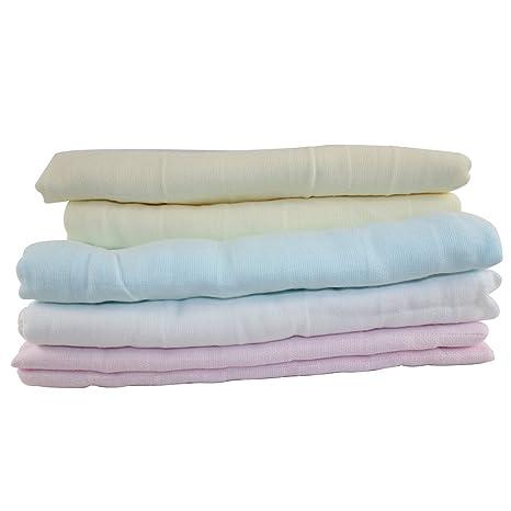 Dianoo bebé bañera toallas - bebé bañera paños - 100% puro algodón - Perfecto 90cm