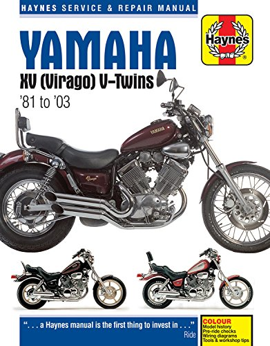 Yamaha XV (Virago) V-Twins '81 to '03 (Haynes Service & Repair Manual)