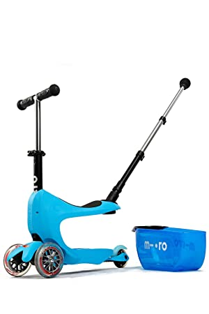 Patinete Mini2go Deluxe Plus Azul