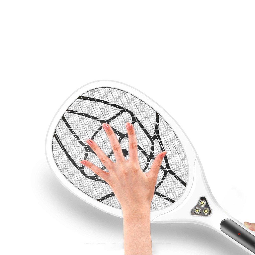 53.5 * 21.5 Cm YLLXX Moustique Rechargeable M/énage Lithium Batterie /Électrique Moustique Pat Led Lampe Grand Flyswatter V/éritable Super Mosquito Shot
