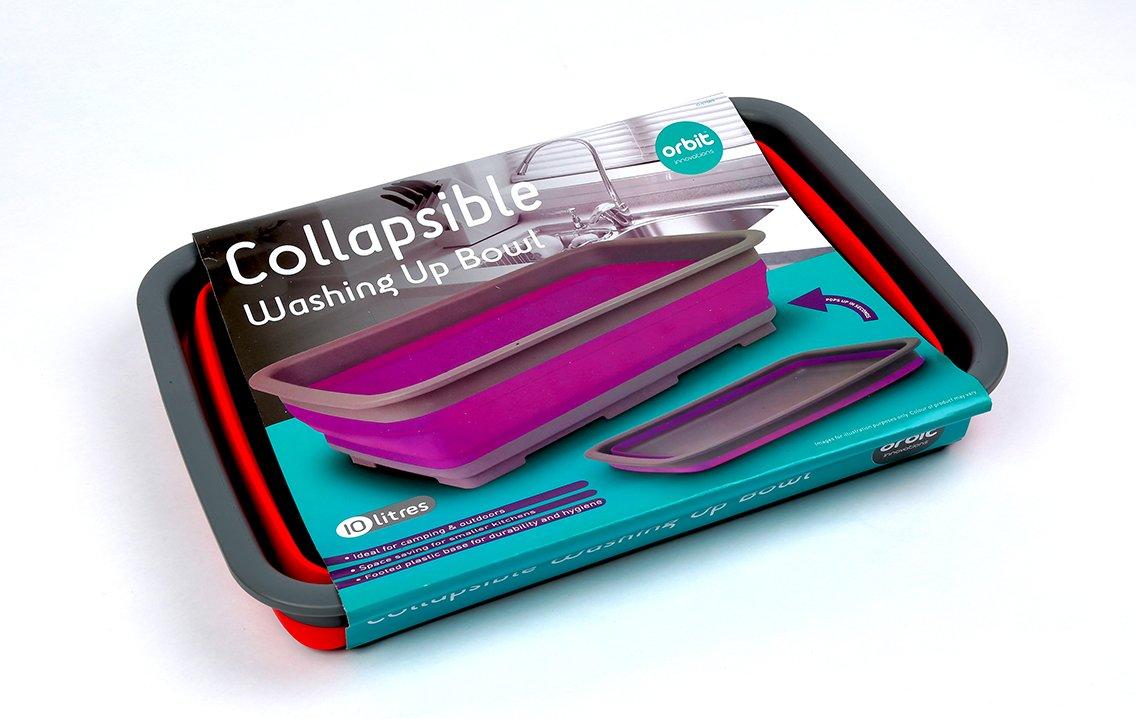 Ideal para Camping Apilables Recipiente De Lavado Los colores pueden variar