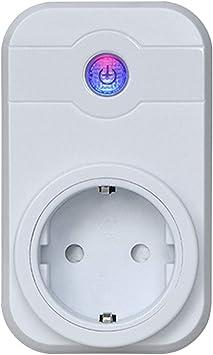 Vococal-2PCS WiFi Smart App Control Remoto Timer Enchufe Toma de ...