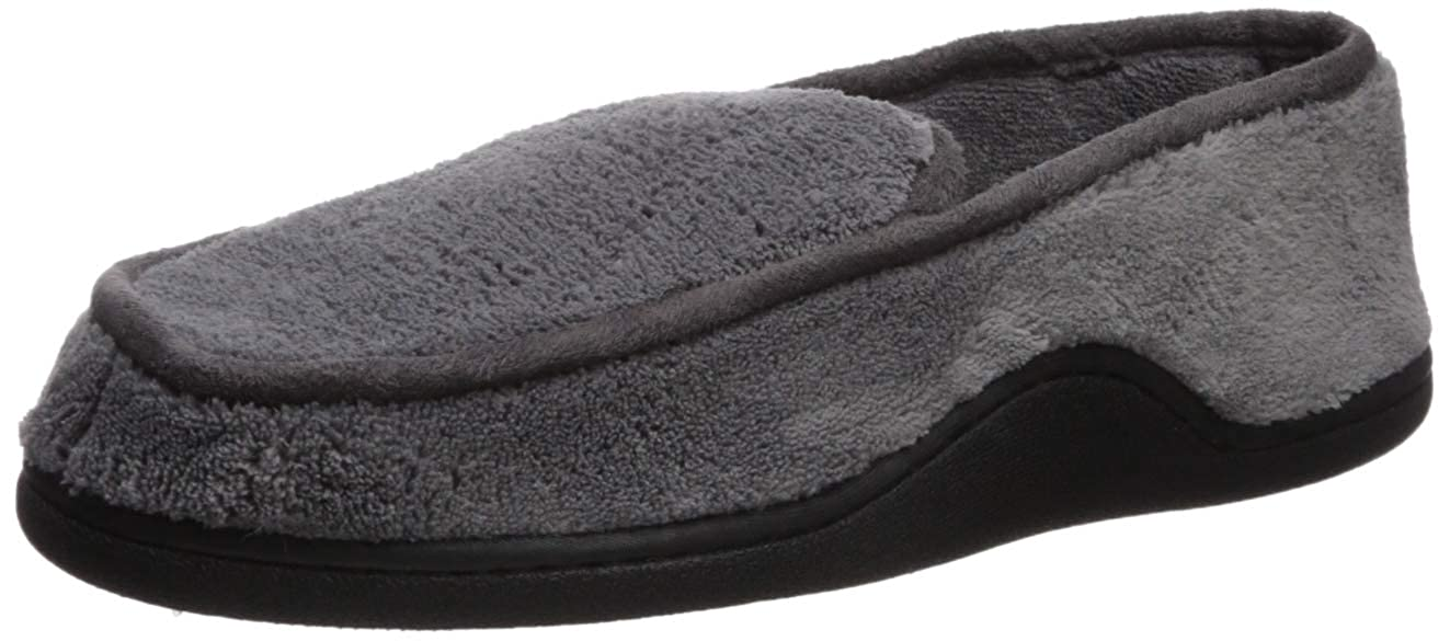 0ecf7b25bf4df Amazon.com | ISOTONER Men's Microterry Slip on Slippers | Slippers