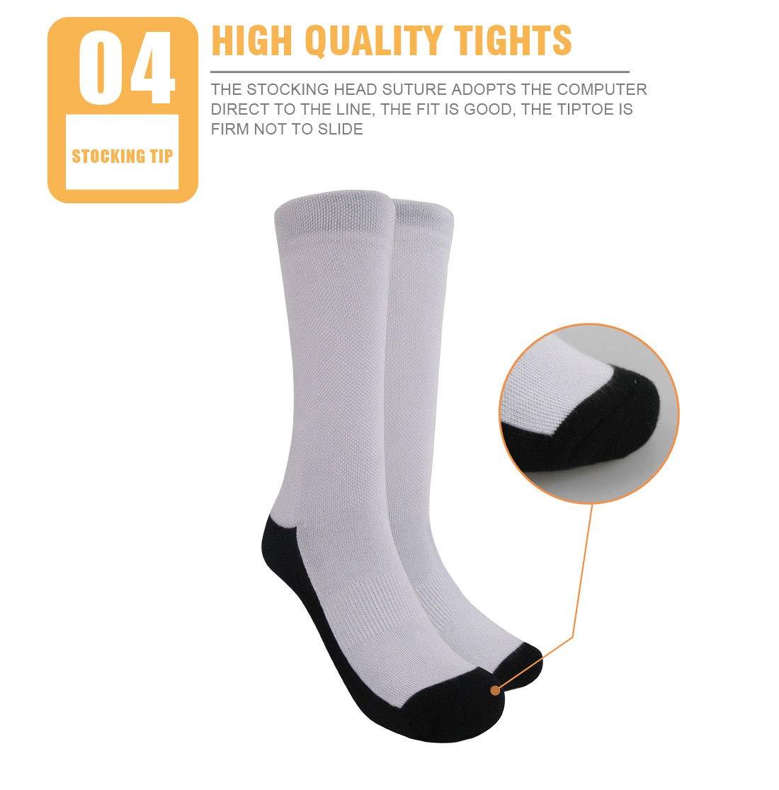 Hugs Idea Women'S Novelty Crazy Crew Socks Funny Sloth Dress Socks -