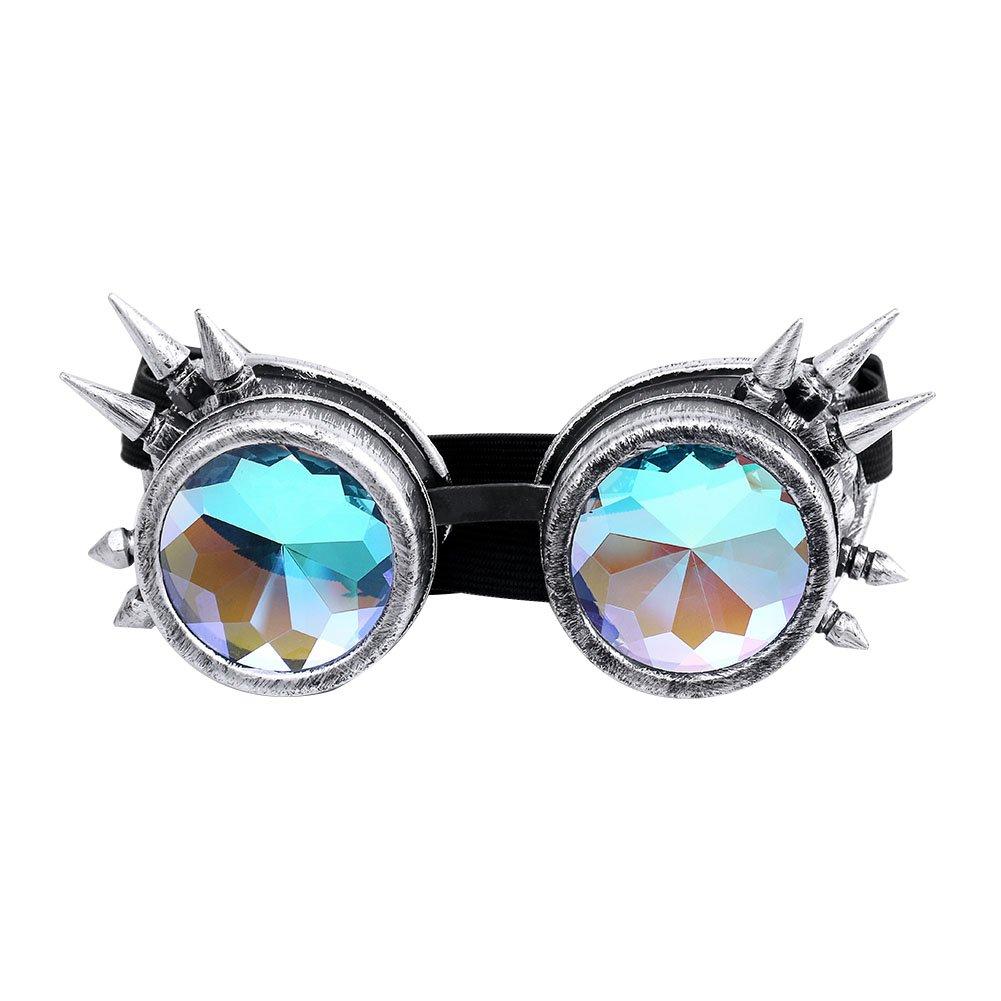 Vintage Lunettes Goggles Style Antique Steampunk Lunettes de Protection Original pour Cosplay Photographie Casque de Moto Vê tements Fê te sweetlife
