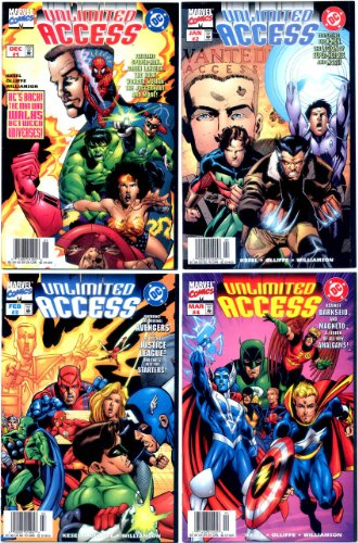 Unlimited Access (DC/Marvel) #1-4 Complete Limited Series (Marvel...