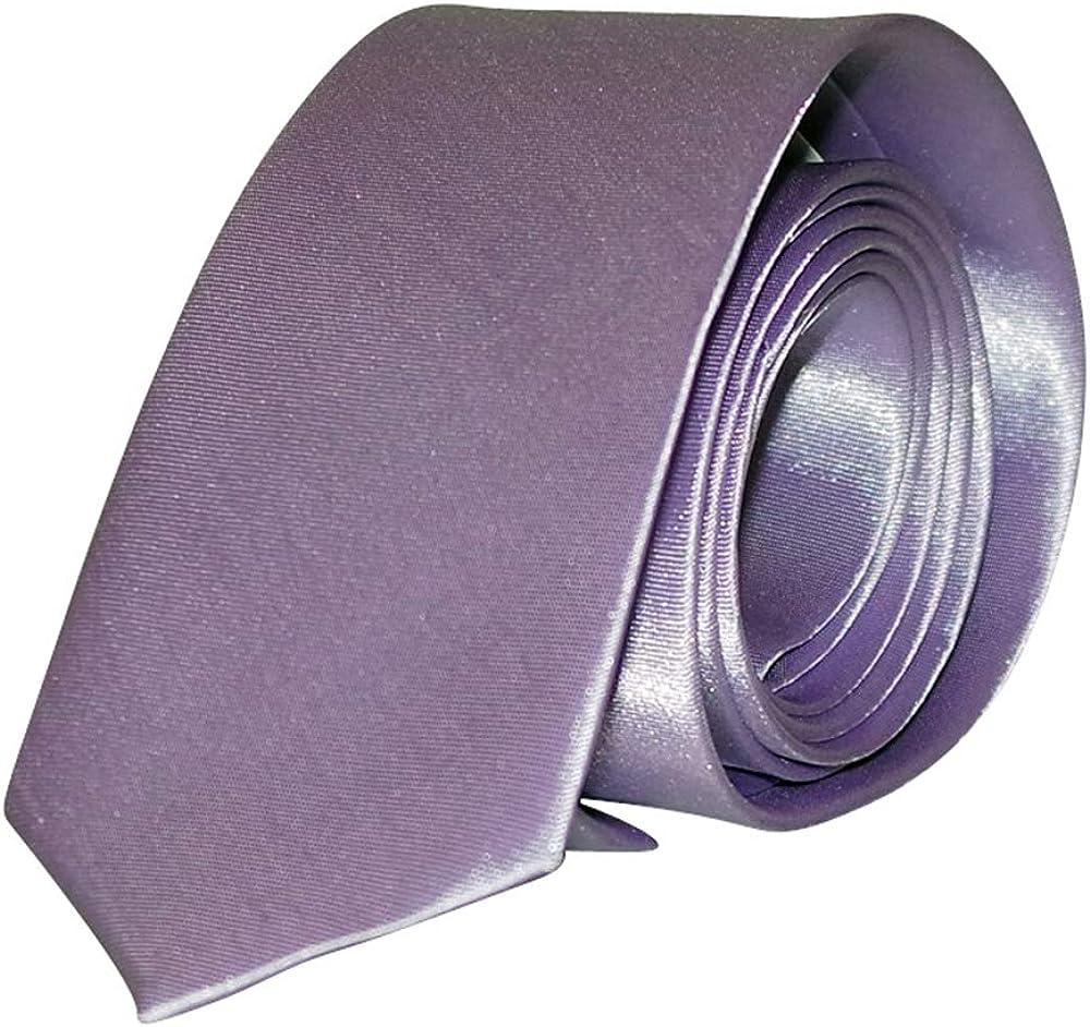 Cravate slim parme Homme Chapeau-tendance