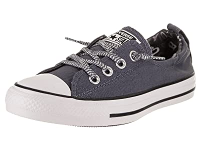 e8424c2205fc81 Converse Women s Chuck Taylor All Star Shoreline Slip-On Light Carbon White  Black