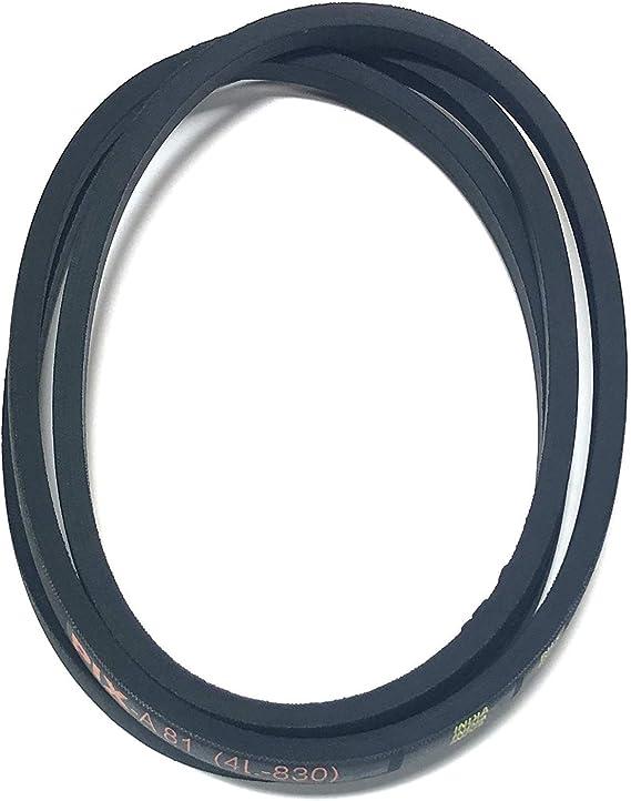 Simplicity Industrial Vbelt V-Belt 1703836 1//2 x 91
