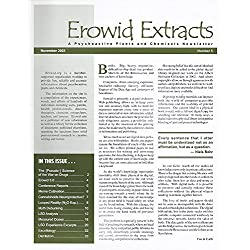 Erowid Extracts, a Psychoactive Plants and Chemical Newsletter, November 2003 (Number 5)