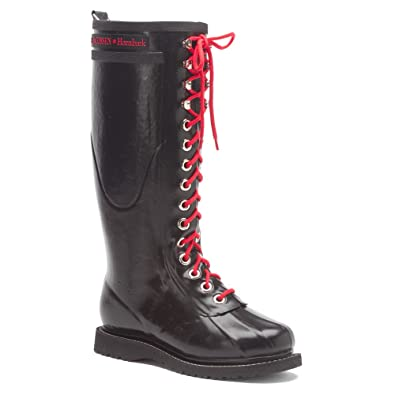 Ilse Jacobsen Womens Red Boots Rub 1