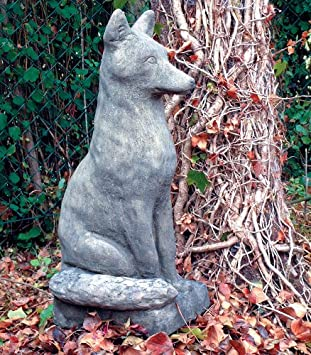 Delightful Large Garden Statues   Fox Animal Sculpture