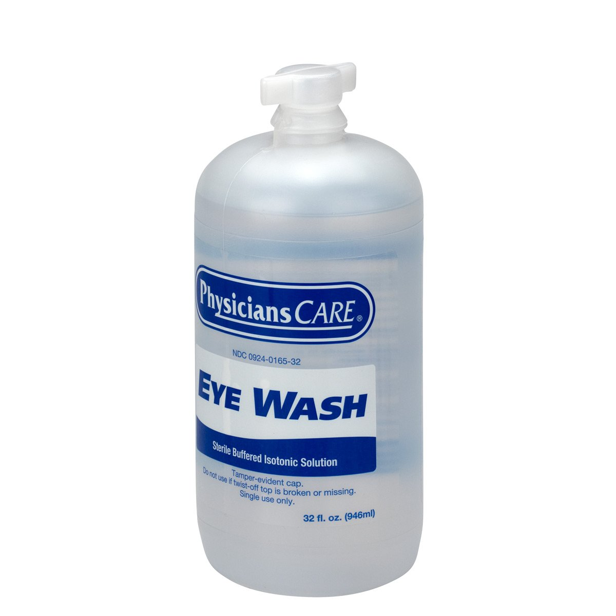 PhysiciansCare by First Aid Only 500-90547 Eyewash Bottle, 32 oz. (Pack of 12) by First Aid Only (Image #3)