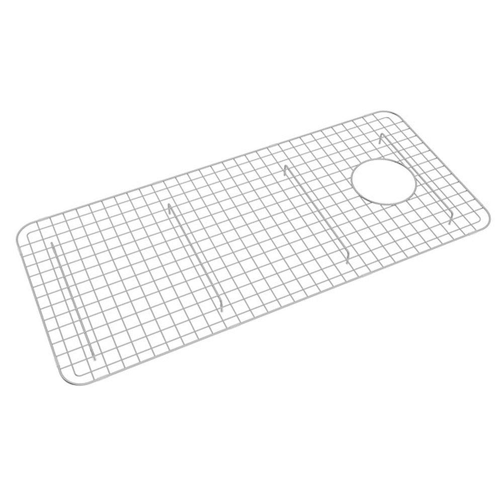 Rohl WSG3618SS 32-5/8-Inch by 14-5/8-Inch Wire Sink Grid for RC3618 Kitchen Sinks in Stainless Steel by Rohl