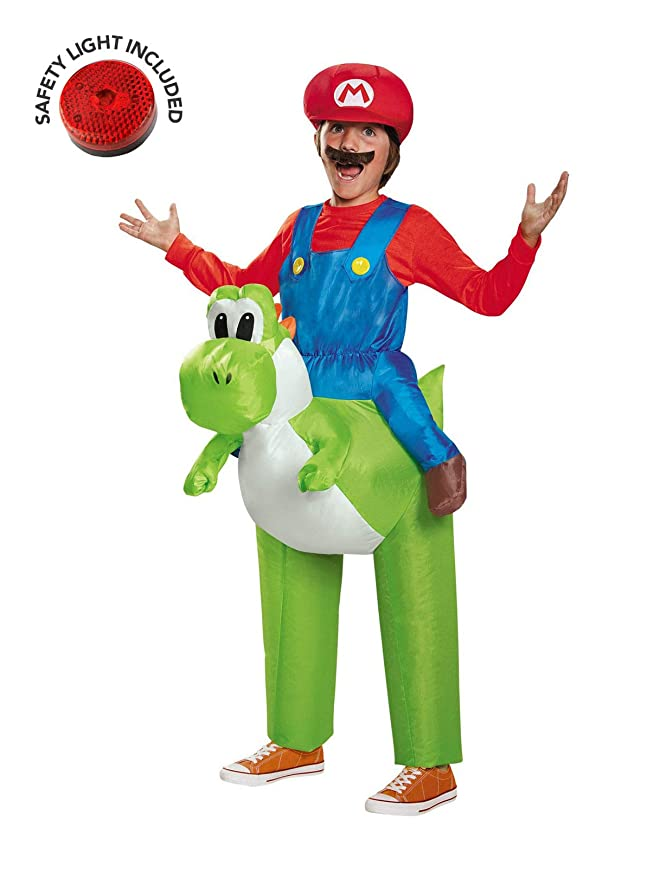 BuyCostumes Super Mario Ride a Yoshi - Disfraz Infantil Inflable ...