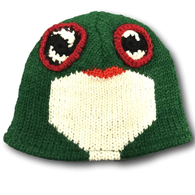 Image Unavailable. Image not available for. Color  RoyalCollection Frog  Wool Womens Ski Winter Beanie Hat ... 496f61c6fb
