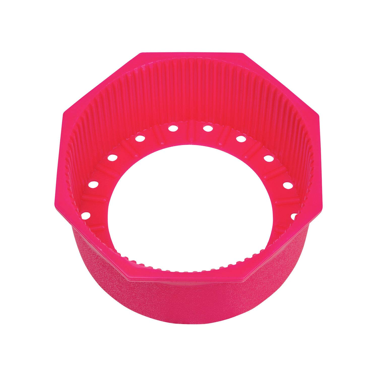 Trident Hex Edge 7.25'' Tank Boot for Flat Bottom Aluminum Tanks (Pink) by Trident