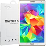Ganvol Prime Films de Protection écran en Verre Trempé pour Samsung Galaxy Tab S 8.4 Pouce WIFI T700 LTE T705 [INRAYABLE et ULTRA RÉSISTANT INDICE Dureté 9H] [Ultra HD Haute Transparence] [Vitre protecteur anti brise] [Anti-Rayure] [Empêche les Traces de Doigts] [Sans Bulles d'air] [0.33 mm]