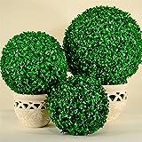 Boule de buis Buxus artificiel, Ø 25,35,50,60cm, décoration pour l'intérieur et l'extérieur 50 cm vert