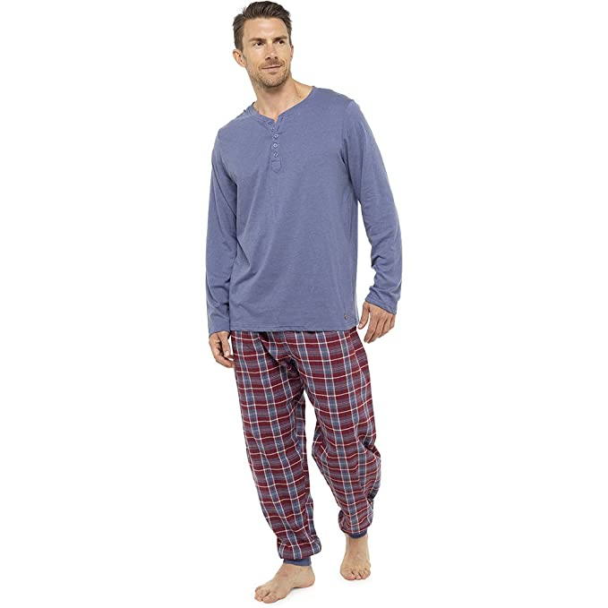 CityComfort Mens Pijamas Perfect Soft Touch Loungewear Set Hombres Pantalones de pijama Pantalones Pantalones de algodón