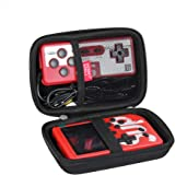 Hermitshell Hard Travel Case for JAMSWALL / Diswoe / UTTORA / TAPDRA 400 Classical FC Games Handheld Game Machine Retro Mini Game Player (Not Include The Handheld Game Console ) (Black)
