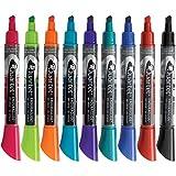 Quartet Dry-Erase Markers, Chisel Tip, Assorted, EnduraGlide, 12/Pack, Case of 24 Packs, 288 Total