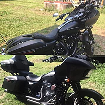 Us Stock Advanblack Denim Black King Tour Pack Tour-Pak Liners Trunk Rack Fit for Harley Touring Street Glide Special Road Glide Road King Electra Glide Ultra Classic 2009-2019