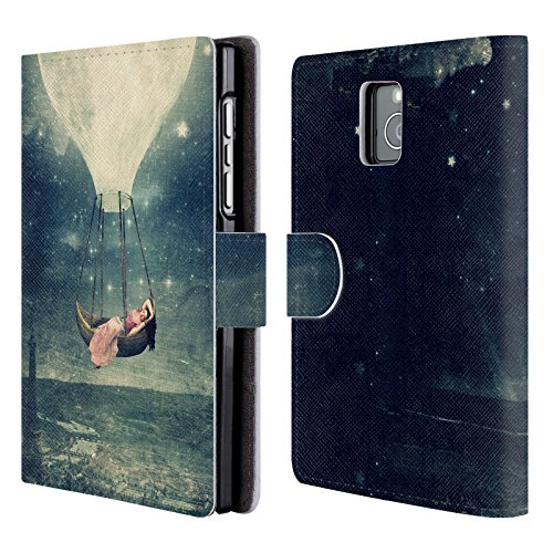 Sky Cover Case Official A Wallet Book For Under Promenade Love Moon Designs Star Case OnePlus 5T Leather Belle Head Flores Paula Wishing pTW8aP4q4w