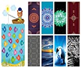 THE YOGA MAT(3mm) The ultra foldable and thinner version of our popular Combo Mat. This luxurious mat was designed to be the ultimate yoga companion!*Extra absorbent and colorful microfiber top layer bonded to a natural tree rubber base gives you the...