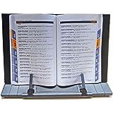 Saflyse 7 Einstellbaren Positionen Laptop Ipad Kochbuch Leseständer Buchständer Daten Halter Gebetbuch-Ständer für Bücher